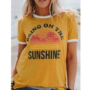 ☀️✨HP!✨Bring On The Sunshine Tee✨☀️